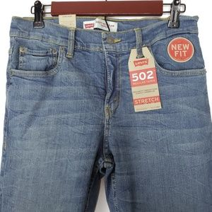 Levi's Jeans - Levi's 502 Regular Taper Stretch Size 28x28